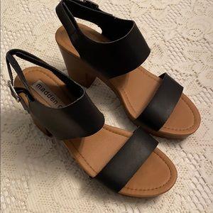 Madden Girl Chunky Heel Sandals
